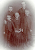Mary Ann Ellender nee Stokes with her children; Horace b.1870, Edith b.1874, Alfred Sampson, b. 1877 and Christopher b. 1880